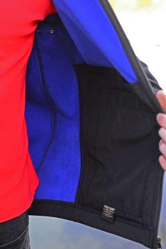 Куртка Softshell Jacket Black/Electric