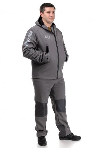 Демисезонный костюм «SCOUT» серый (куртка и штаны)