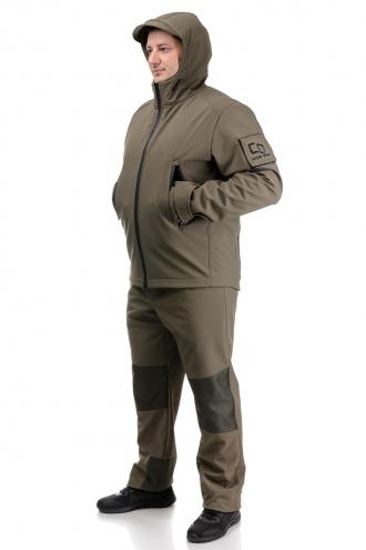 Демисезонный костюм «SCOUT» oliva (куртка и штаны)