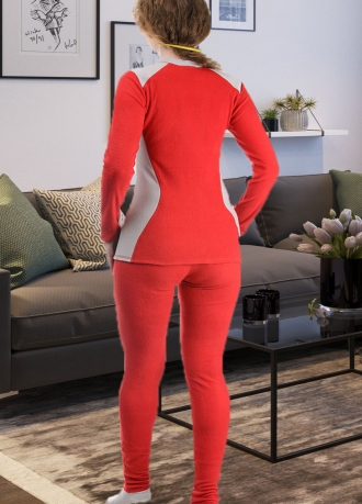 """Комплект женского термобелья """"Performance Woman"""" красный"""