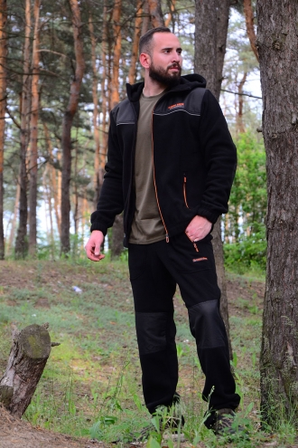 Костюм флисовый Best Friend Comfort черный