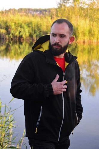 Куртка Softshell Jacket Black/Yellow