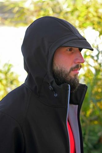 Куртка Softshell Jacket Black/Gray