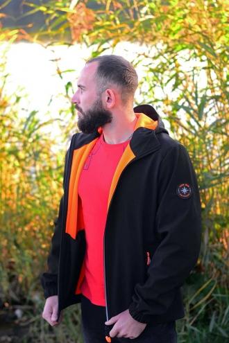 Куртка Softshell Jacket Black/Orange