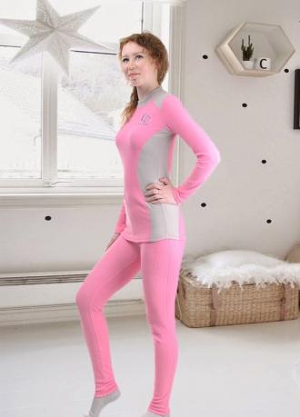 """Комплект женского термобелья """"Performance Woman"""" розовый"""